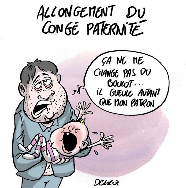 Allongement du congé paternité